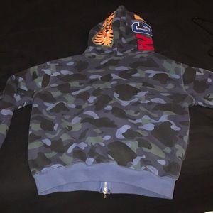 Bape Sweaters - Bape zipper jacket/sweater 100% authentic